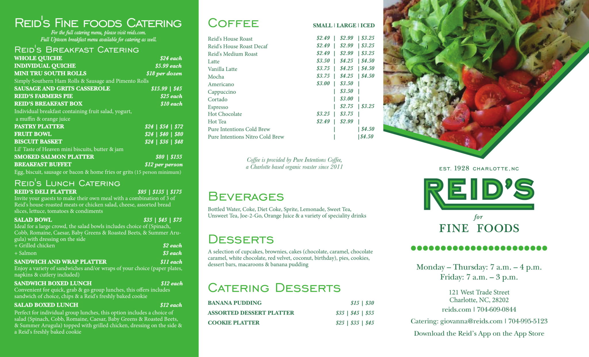 uptown menu