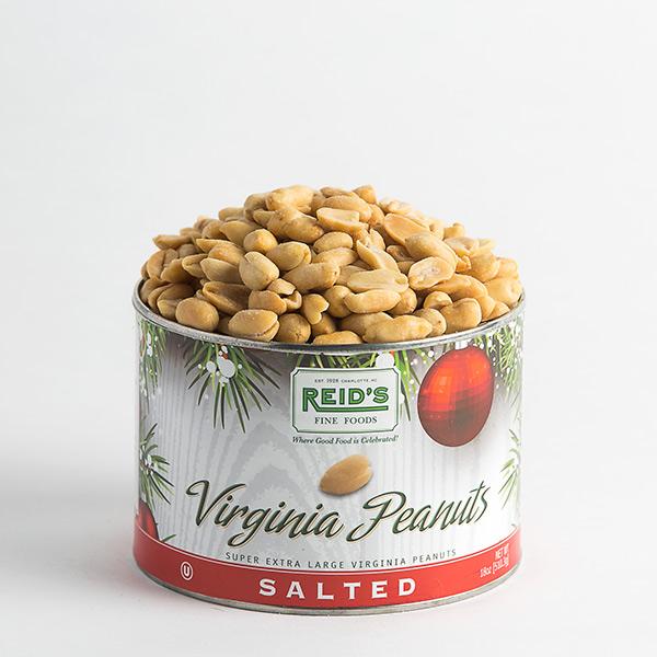 Holiday Salted Virginia Peanuts