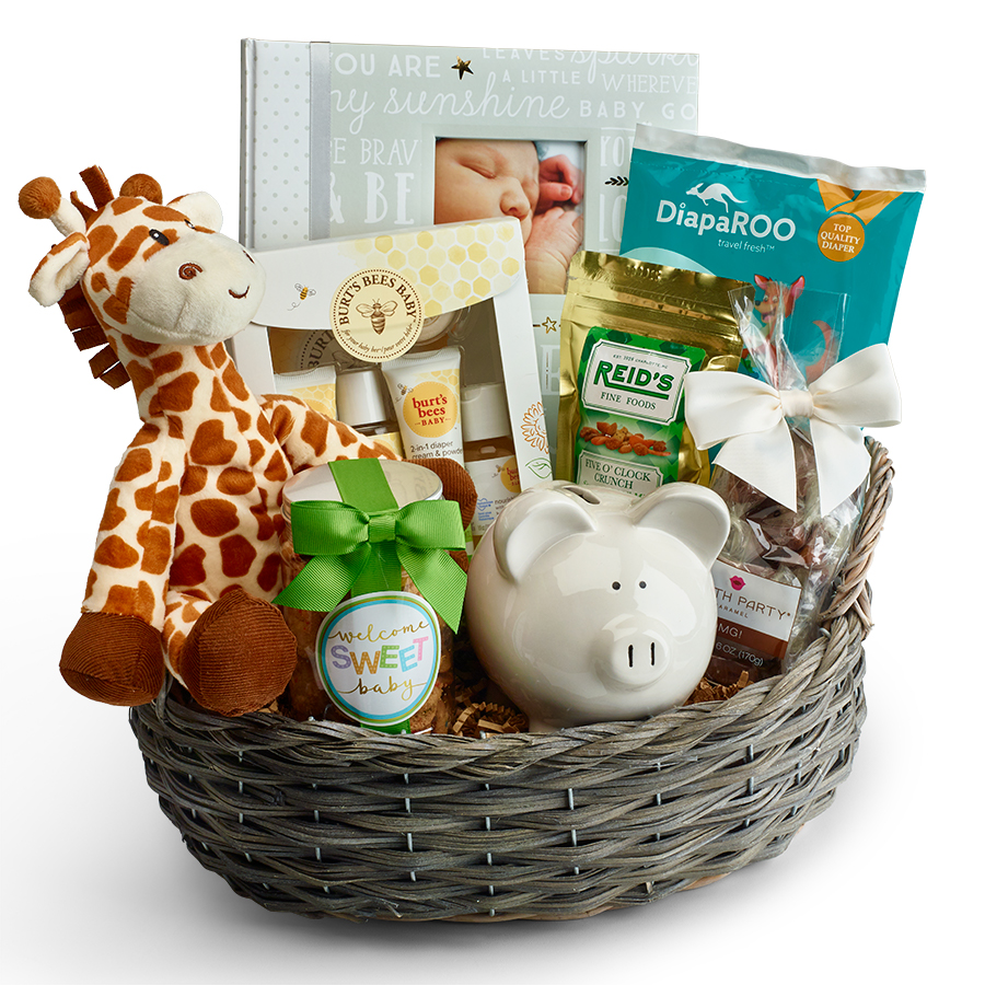 Baby Welcome Gift Basket
