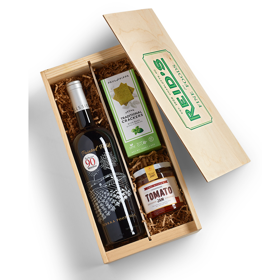 Red Blend Snack Wine Gift Crate