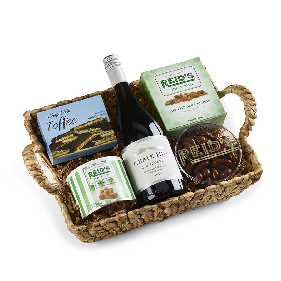 Happy Hour Wine Basket