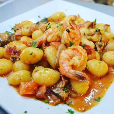 aglio pastacamaronada