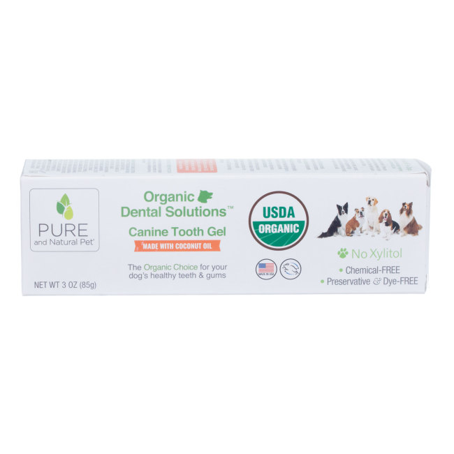 Pure and Natural Pet™ Organic Dental Solutions™ Canine Tooth Gel