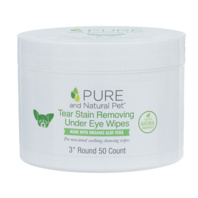 Pure and Natural Pet™ Tear Stain Remover Wipes