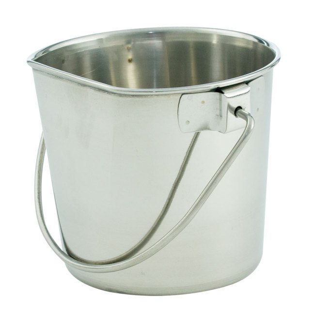 Flat-sided Pails without Hooks