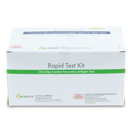 Anigen Canine Parvovirus Rapid Test Kit