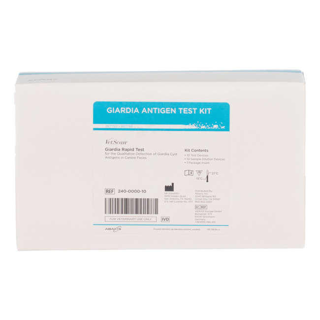 Abaxis VetScan® Giardia Rapid Test Kit