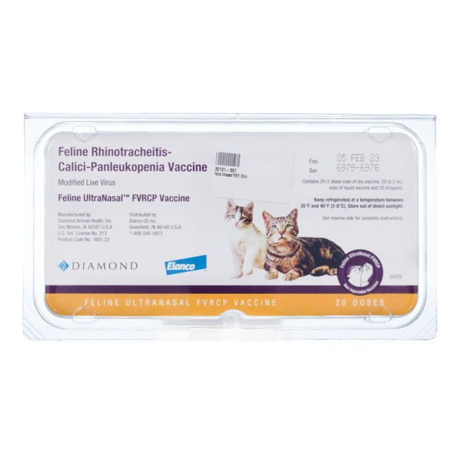 Feline Ultranasal Fvrcp Revival Animal Health