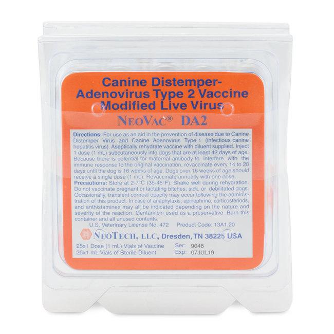 NeoVac DA2, 25x1 dose
