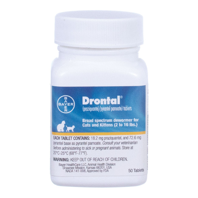 Drontal For Cats Revival Animal Health