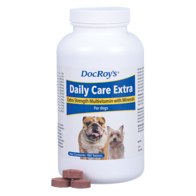 Doc Roy's Daily Care Extra Canine