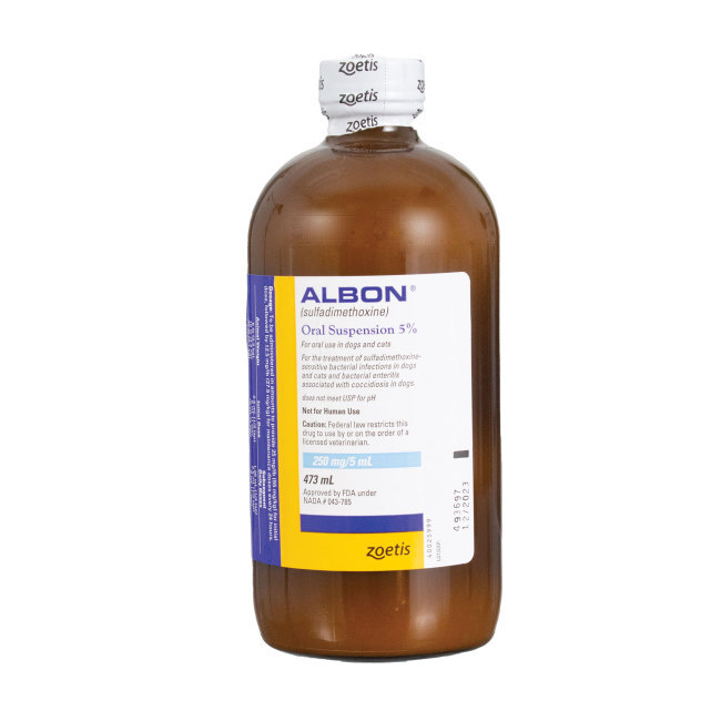 Albon 5% Oral Suspension