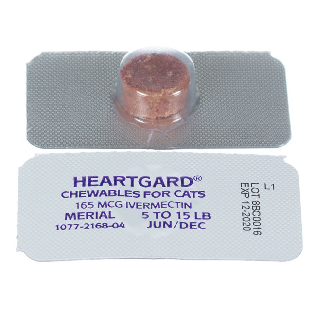 Heartgard Feline Chewables