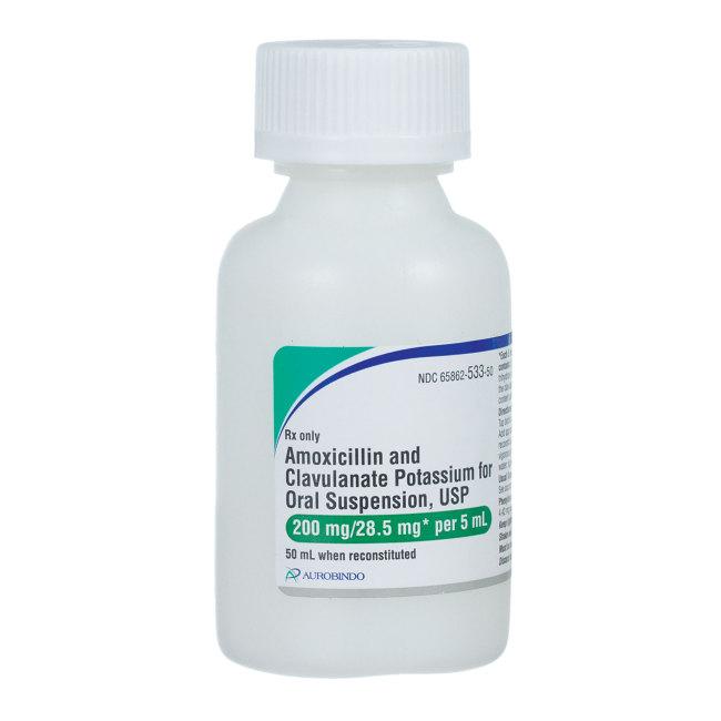 Amoxicillin/Potassium Clavulanate