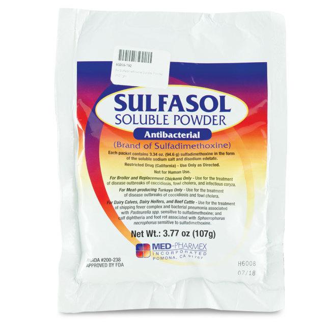 Sulfadimethoxine Powder
