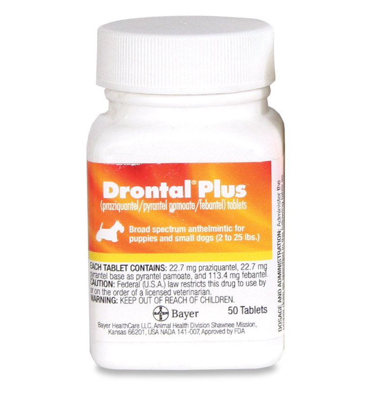 Drontal Plus 22 7 mg (sold per tablet)