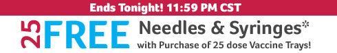 Needles & Syringes Offer