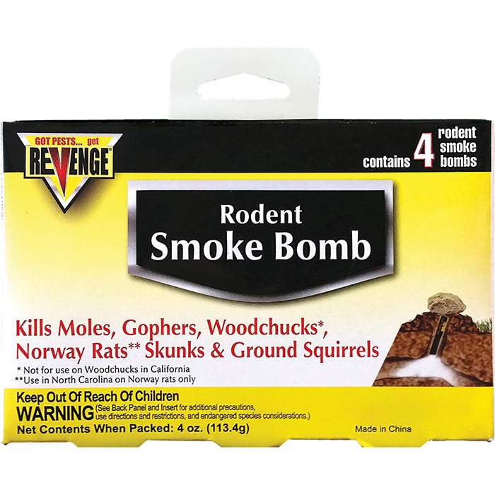 Revenge Rodent Smoke Bomb