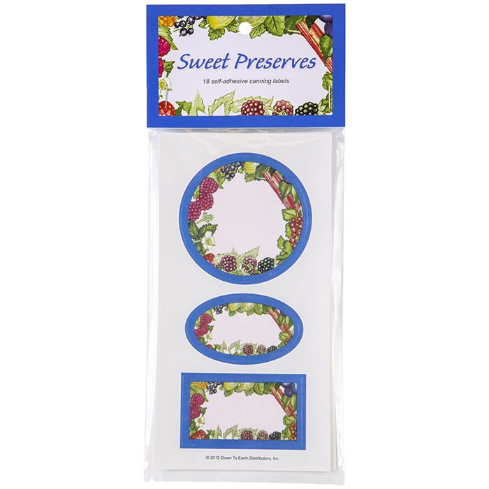 Sweet Preserves Preserve Labels