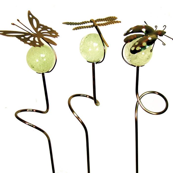 Dragonfly Garden Critter Pot Sticker