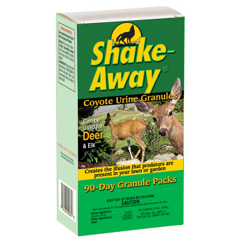 Shake-Away Coyote Urine Granule Repellent Packs