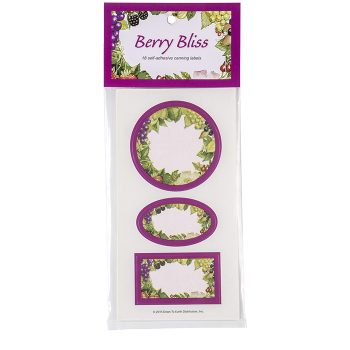 Berry Bliss Preserve Labels