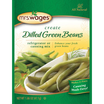 Mrs Wages Dilled Green Beans