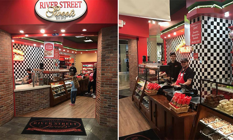 River Street Sweets, Mall Of Georgia, Atlanta Georgia Buford, Georgia