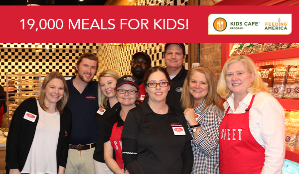 over 19,000 meals for kids at risk of hunger
