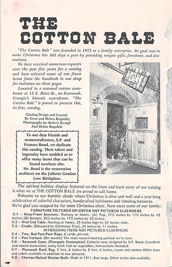 Cotton Bale Brochure Cover 2