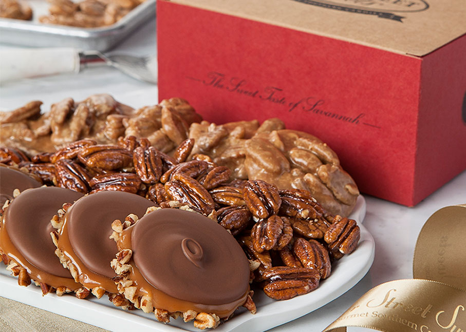 Assortments With Glazed Pecans