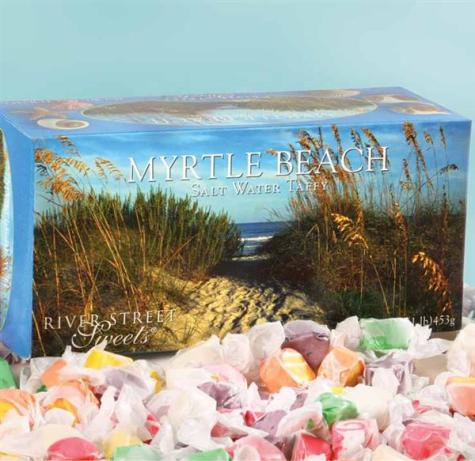 Myrtle Beach Gift Box of Salt Water Taffy