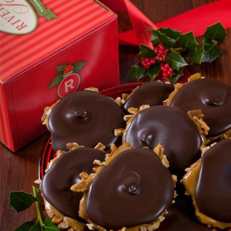 Dark Chocolate Bear Claw Holiday Box
