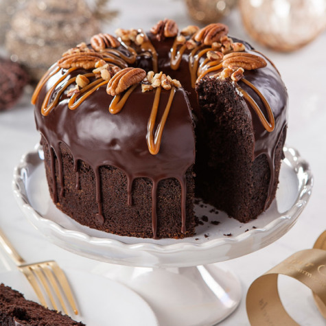 Chocolate Bear Claw Cake