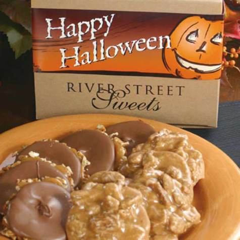 Halloween Box of Pralines & Bear Claws