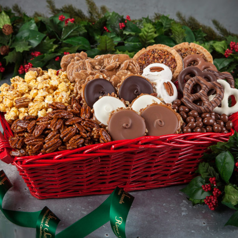 southern holiday sweets gift basket