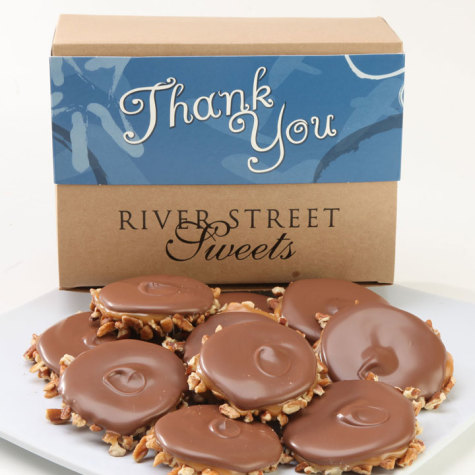Thank You Box of Milk Chocolate Bear Claws