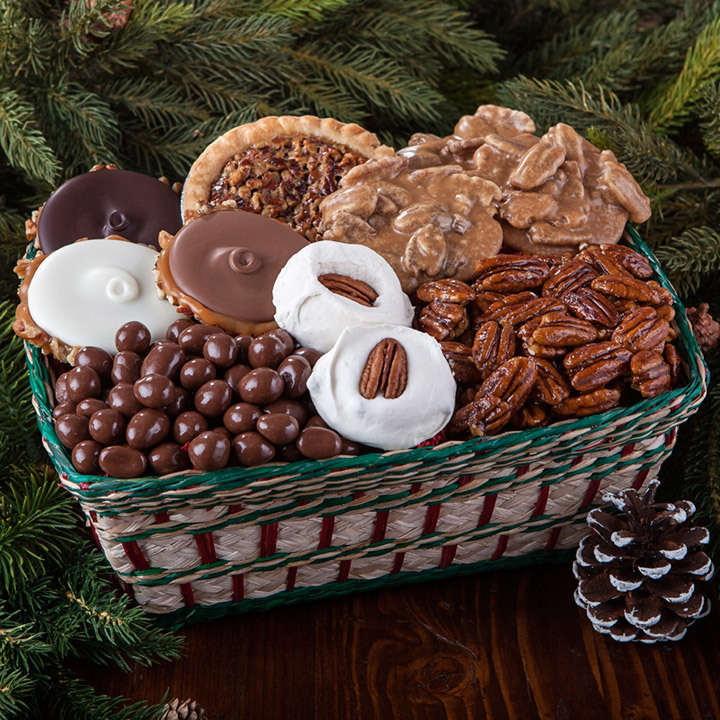 christmas gift basket gourmet candy gift baskets free shipping
