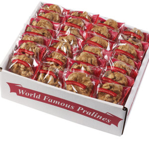 World Famous Praline Bulk Cases (50-100 ct)