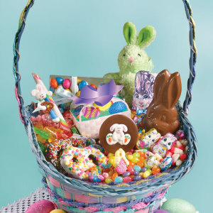 Easter baskets easter spring gifts easter candyriver street sweets childs easter basket negle Image collections