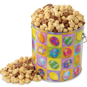 Nutty Caramel Popcorn Easter Pail