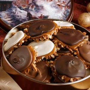Holiday Tin  of Assorted Bear Claws