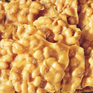 1lb. Crunchy Peanut Brittle Candy Cart Special (max of 3)