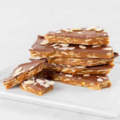 Chocolate Almond Toffee Box, 14oz