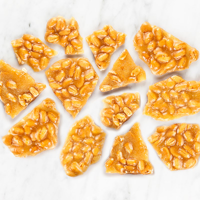Peanut Brittle-1lb Bag