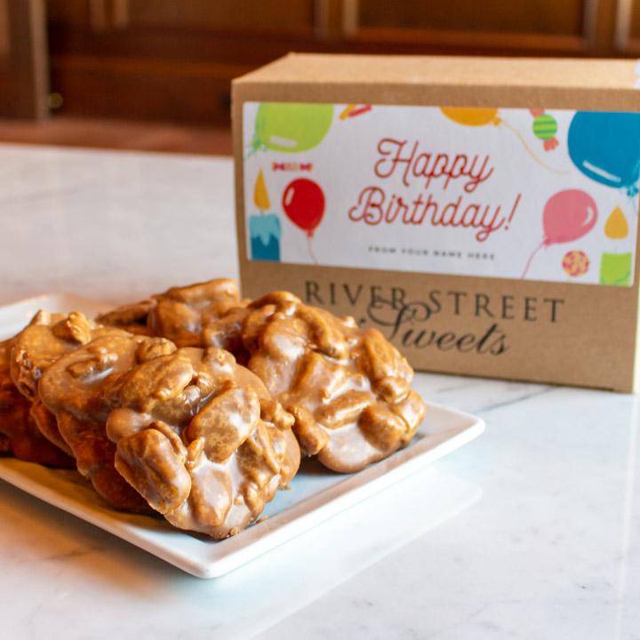 Custom Birthday 10pc Classic Praline Gift Box