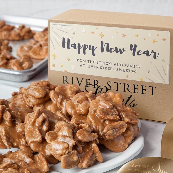 Custom New Year 10pc Praline Gift Box