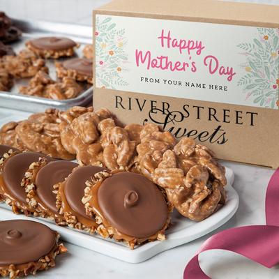 Custom Mother's Day Praline & Bear Claw Box