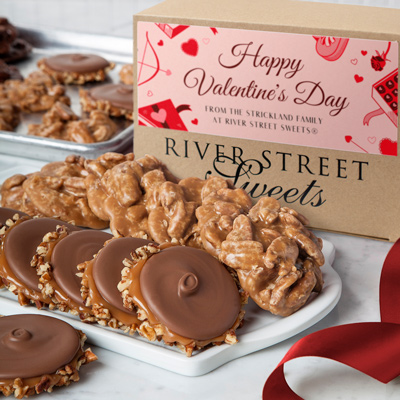 Custom Valentine's 10pc Praline & Bear Claw Box