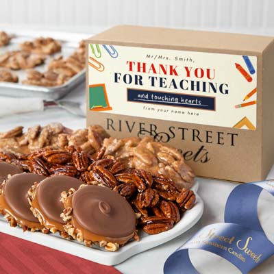 Custom Teacher Appreciation Collection Box
